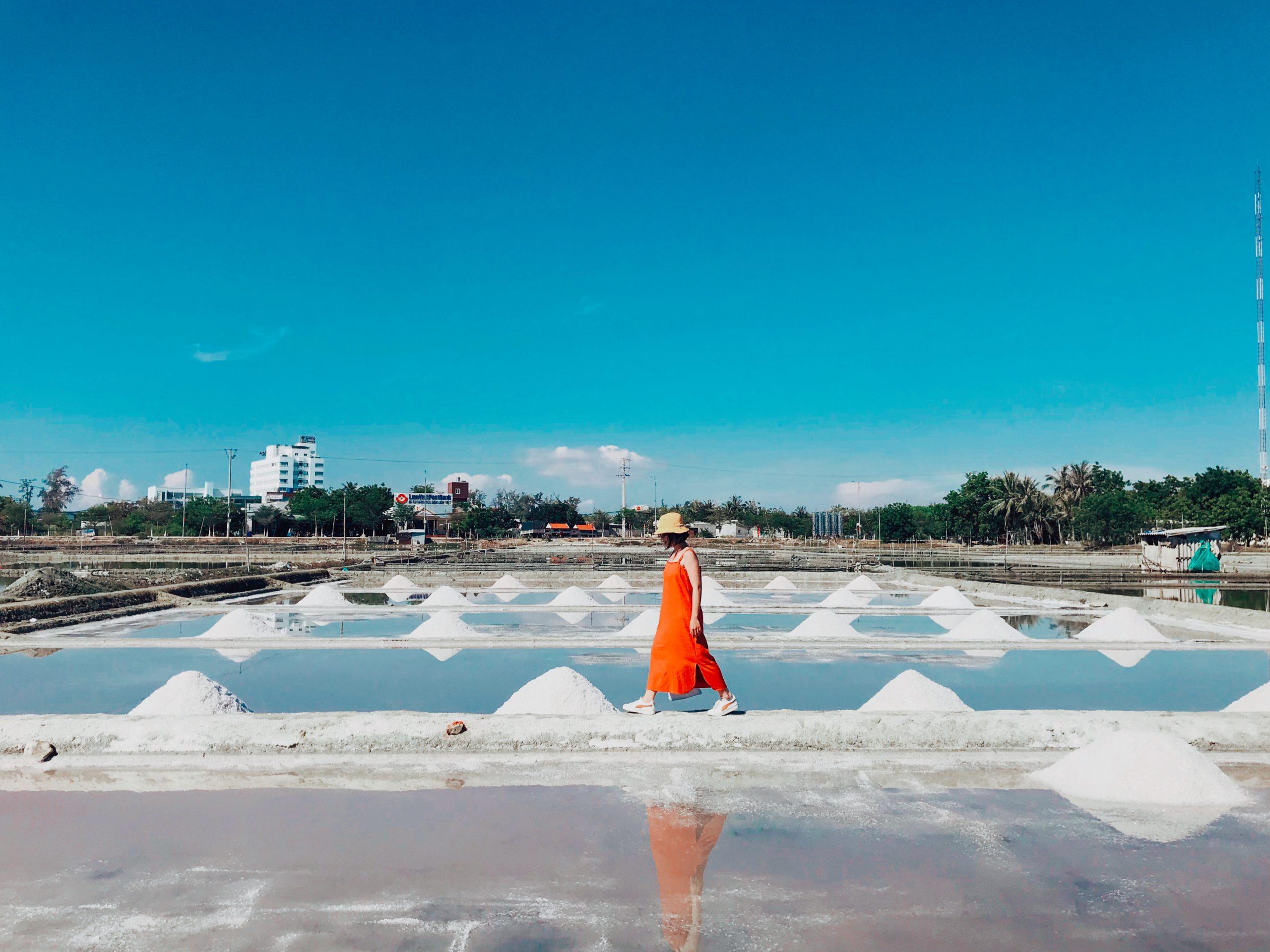 Cánh đồng muối Ninh Hải Ninh Thuận