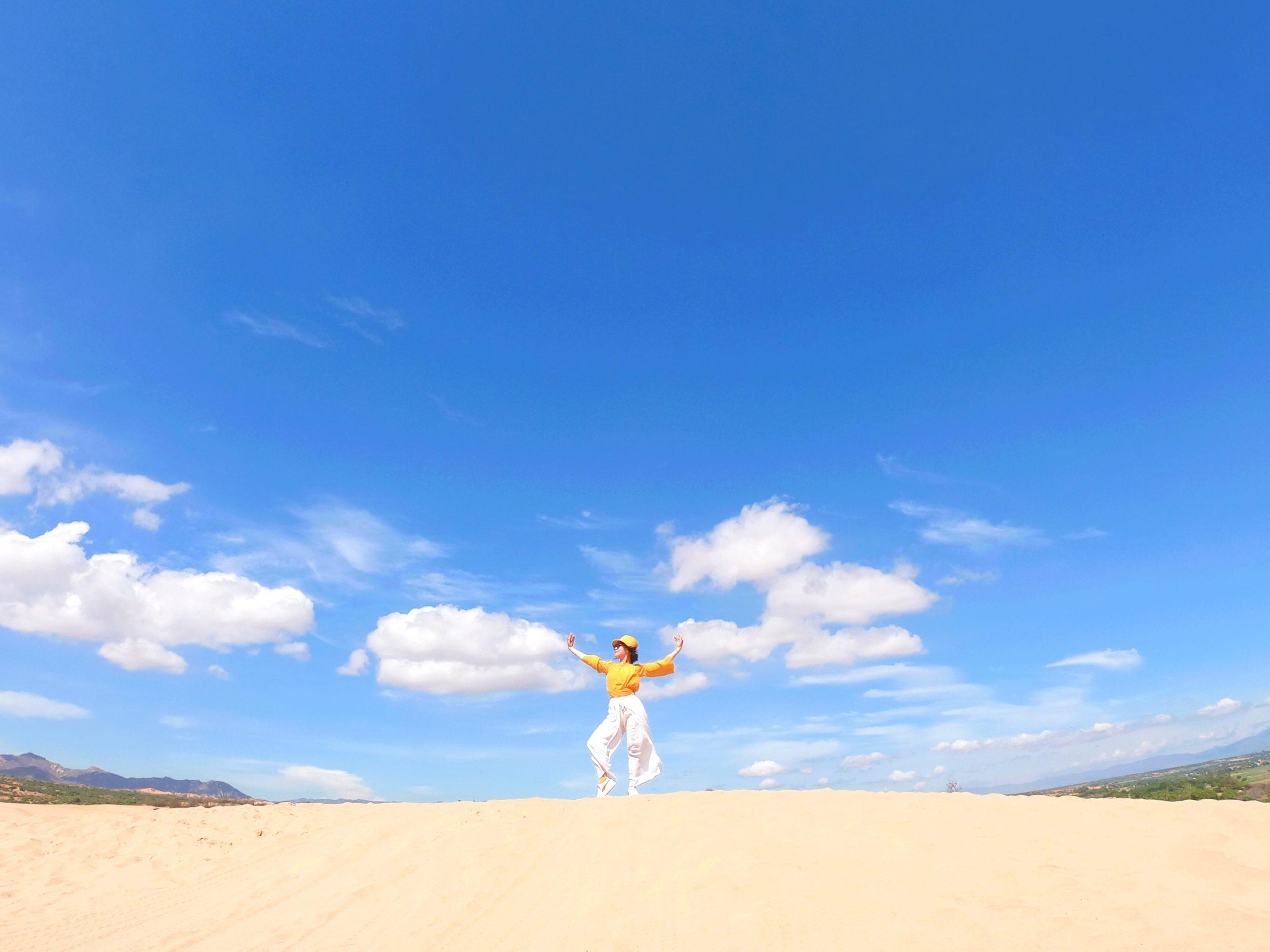 ĐỒi cát Nam Cương Ninh Thuận